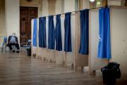 Lyon, le 20 juin 2021. Bureau de vote de la salle de La Corbeille, dans le 2e arrondissement, pour les élections régionale Auvergne Rhône-Alpes.