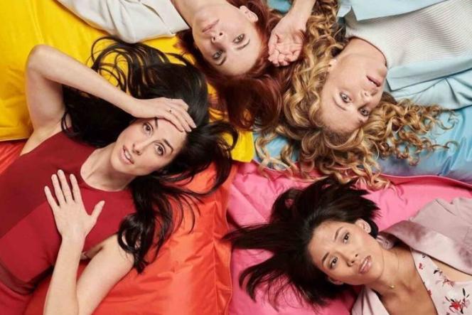 Les quatre héroïnes de la série«Workin' Moms», créée par Catherine Reitman, dont la saison 5 est désormais disponible sur Netflix.