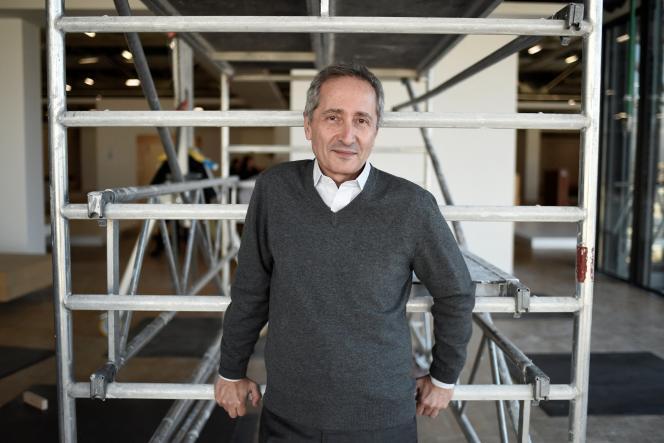 Bernard Blistène, directeur du Musée national d'art moderne au Centre Pompidou, à qui Emmanuel Macron a confié la présidence de ce comité artistique. Ici, à Paris en novembre 2017.