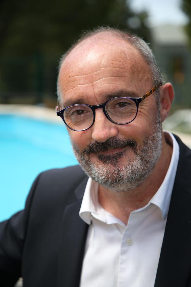 L'écologiste Jean-Laurent Félizia, le 1erjuin 2021, à Marseille.