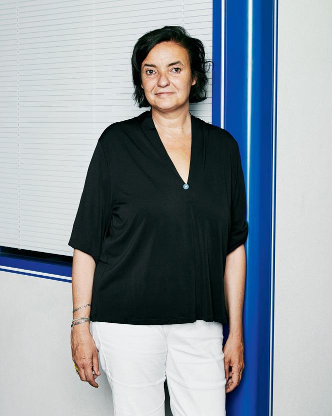Carine Rolland, au siège de Médecins du monde, dans le 18earrondissement de Paris, le 20 juin.
