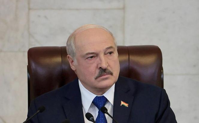 Alexander Lukashenko, President of Belarus on May 26, 2021 in Minsk.