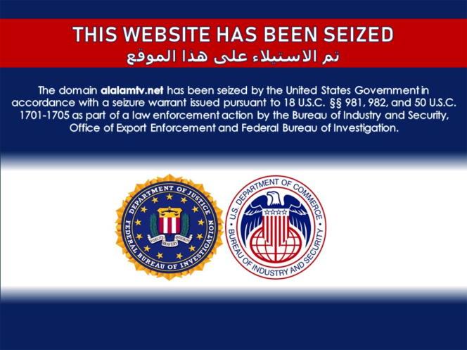 Capture d'écran du site de la chaîne d'information en arabe Al-Alam,le 22 juin2021.