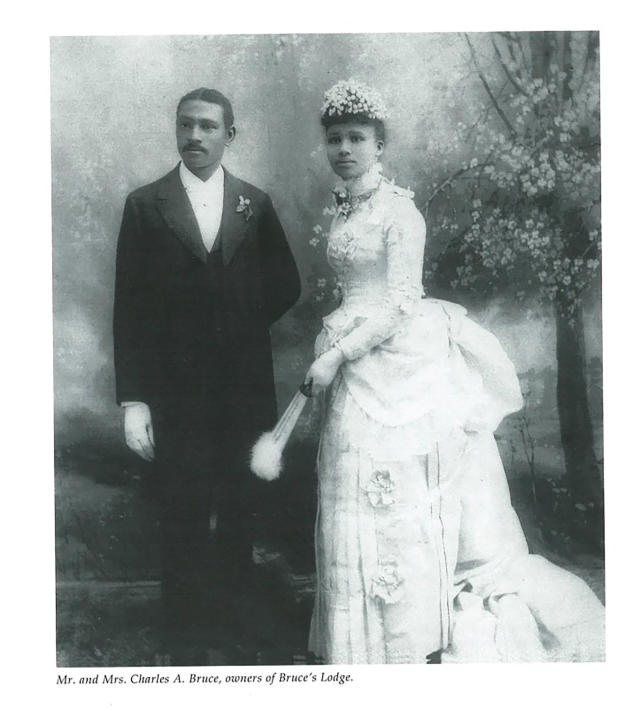 Charles et Willa Bruce.