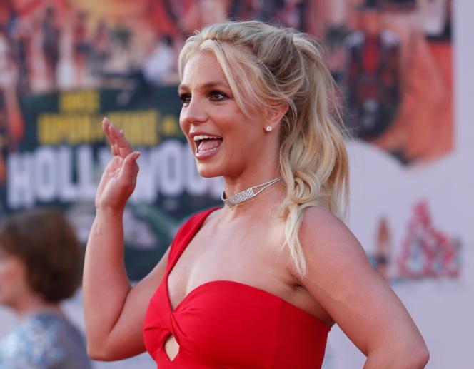 Britney Spears lors de la première du film «Once Upon a Time In Hollywood» à Los Angeles, le 22 juillet 2019.