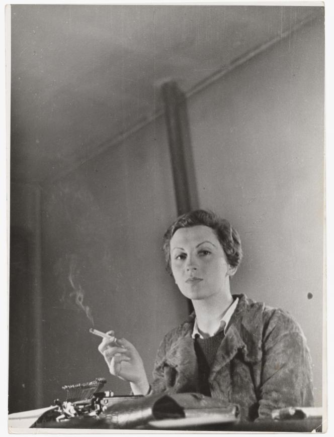 La photojournaliste Gerda Taro.