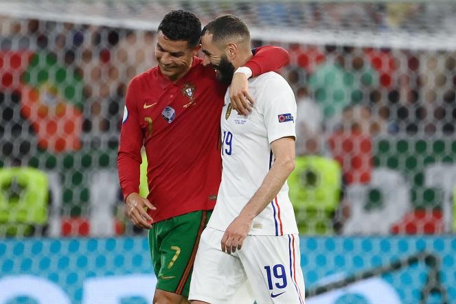 La complicité est toujours au rendez-vous entre Karim Benzema et Cristiano Ronaldo.