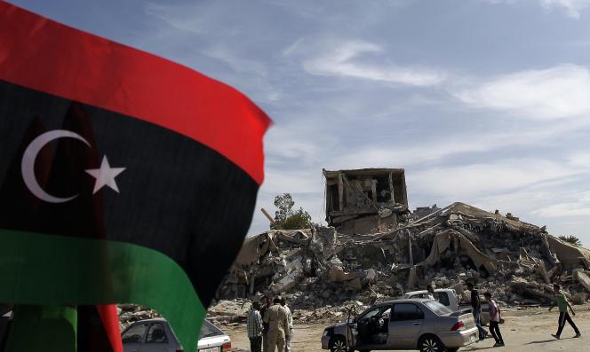A Tripoli, après la chute de Mouammar Kadhafi, en novembre 2011.