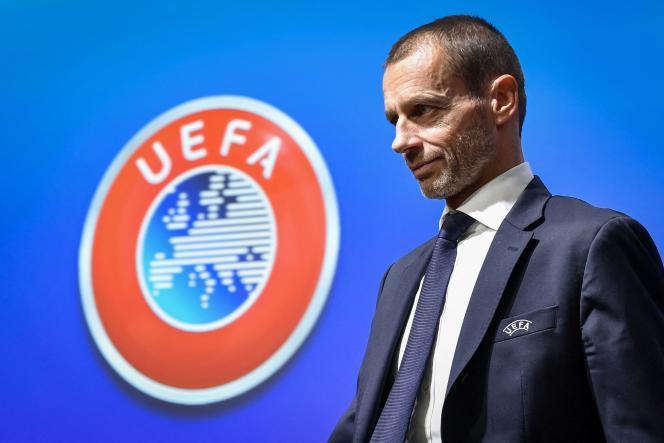 Le président de l'UEFA, Aleksander Ceferin, à Nyon, en Suisse, le 4décembre2019.