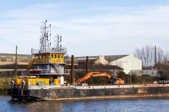 Le port d'Honfleur (Calvados), ici en 2017, par lequeltransitent les plus forts tonnages d'ammonitrates à haut dosage en France.