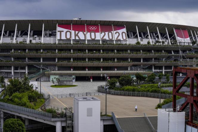 Préparatifs des JO de Tokyo.