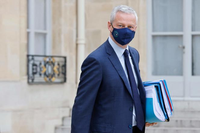 Bruno Le Maire, le 23 juin 2021, à Paris.