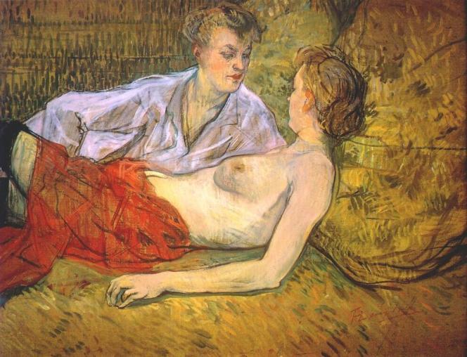 « Les deux amies» (1885), de Henri de Toulouse-Lautrec.