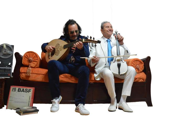 Medhi Haddab et Hamdi Benanià Annaba en Algérie, en février 2019.