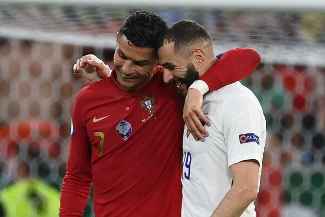 Cristiano Ronaldo et Karim Benzema.