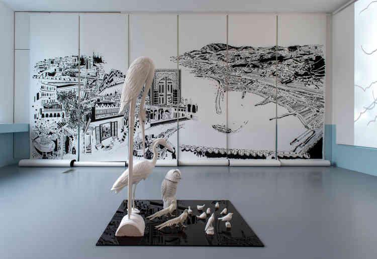 « Sous le ciel de Paris», de Chourouk Hriech, 2021.