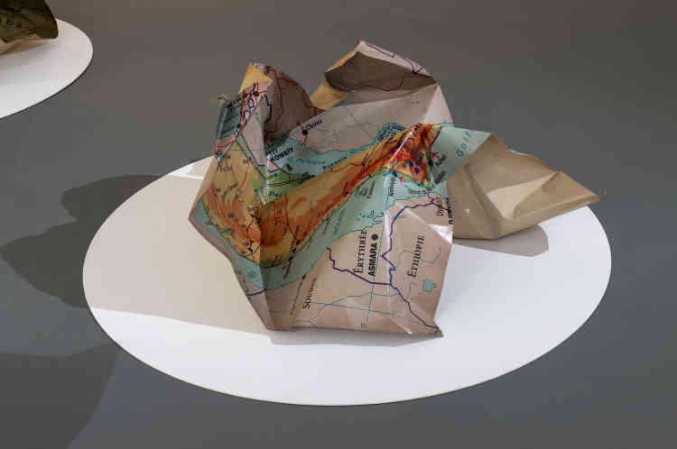 « Concrete Borders», de Fatiha Zemmouri, 2020.