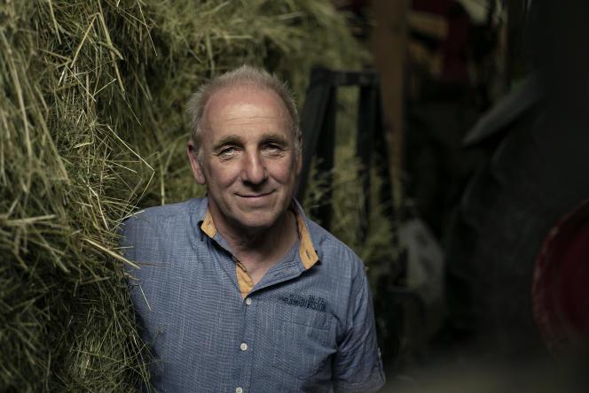 Horst Reiser, agriculteur bio à Straubenhardt (Allemagne), le 23 juin 2021.
