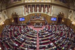 Session au Sénat en 2016.