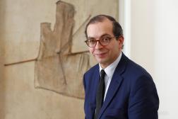 Laurent Le Bon, en octobre 2014, à Paris.