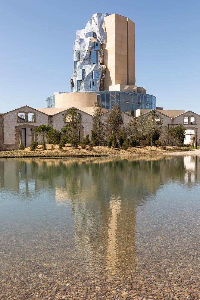 La tour Luma de Frank Gehry, à Arles (Bouches-du-Rhône).
