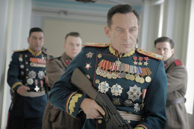 Jason Isaacs dans le rôle de Gueorgui Joukov, dans «La Mort de Staline» (2017), d'Armando Iannucci.