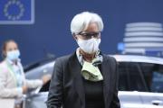 La présidente de la Banque centrale européenne, Christine Lagarde, à Bruxelles, le vendredi 25 juin 2021.
