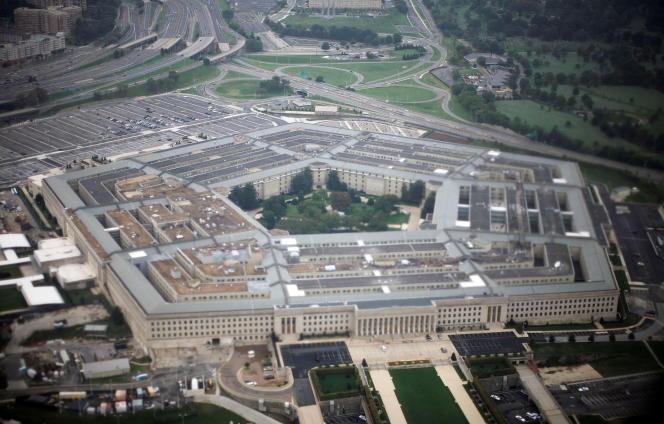 Vue aérienne du Pentagone, le 28 septembre 2008.