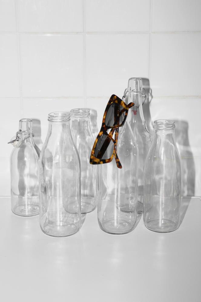 Lunettes en acétate, Celine par Hedi Slimane, 290€.