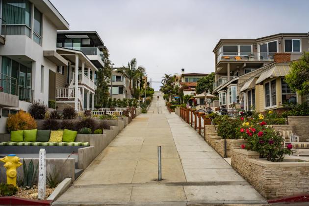 Manhattan Beach a poussé la culture du « beach cottage» jusqu'à lui consacrer un musée. Le 18 juin 2021.
