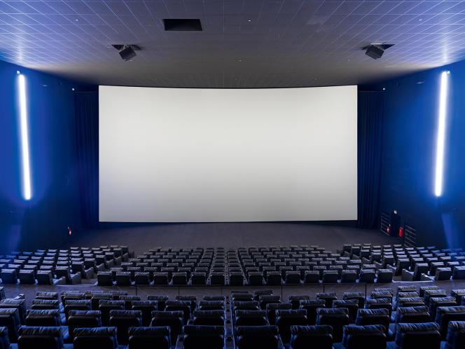 La salle à l'écran IMAX.