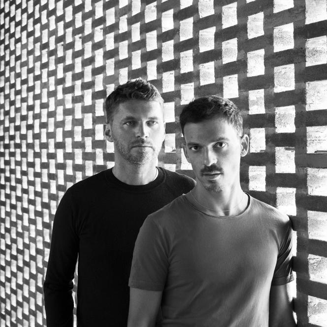 Karl Fournier (à gauche) et Olivier Marty.