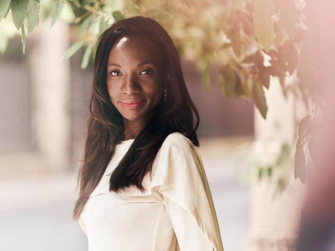 Laureen Kouassi-Olsson, fondatrice de Birimian, à Paris, le 24juin 2021.