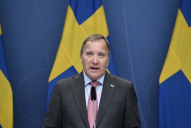 Le premier ministre suédois, Stefan Löfven, à Stockholm, lundi 28 juin 2021.