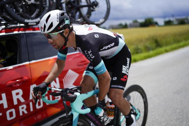 Michael Matthews, le 28 juin sur le Tour de France.