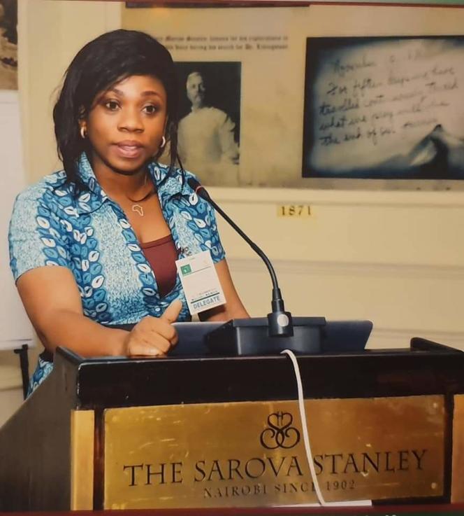 Julie Koné,présidente de l'ONG Cefci.