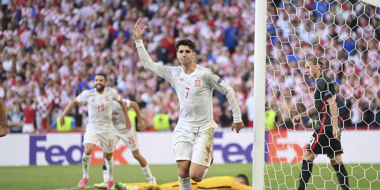 Alvaro Morata a permis à l'Espagne de s'échapper, en prolongation.