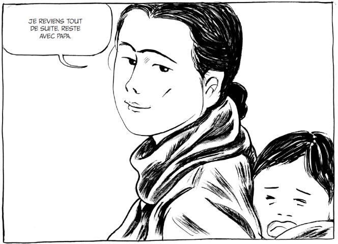 «L'attente», de Keum Suk Gendry-Kim, Futuropolis.