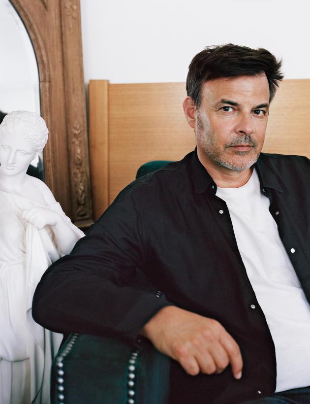 François Ozon, le 21juin 2021, dans ses bureaux, à Paris(2e).
