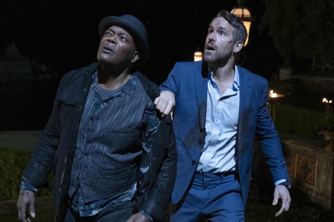 Samuel L. Jackson (à gauche) et Ryan Reynolds dans le film«Hitman & Bodyguard 2»,de Patrick Hugues.