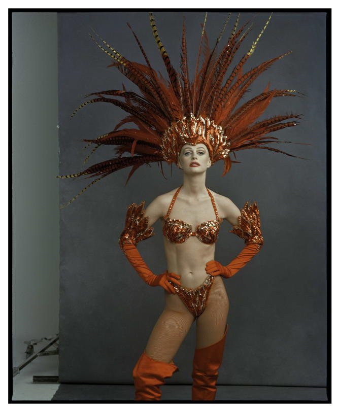 Annie Leibovitz,« Akke Alma, Stardust Casino», Las Vegas, Nevada, 1995.