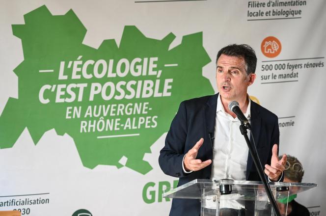 Le maire EELV de Grenoble, Eric Piolle, à Lyon, le 26 mai.