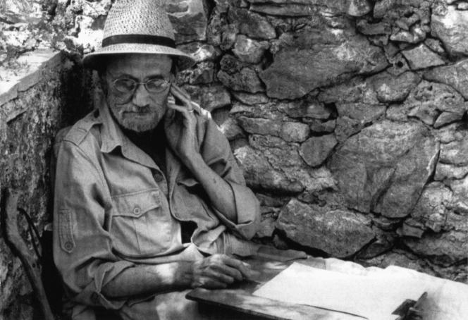 Fernand Deligny. Extrait de «Fernand Deligny, àpropos d'un filmàfaire», de Renaud Victor (1989).