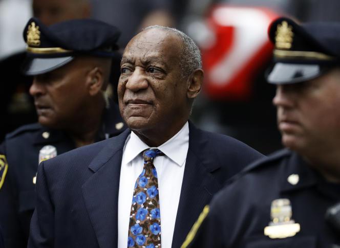 Bill Cosby, le 24 septembre 2018, arrivant à l'audience destinée à fixer sa sentence au tribunal de Norristown, en Pennsylvanie.