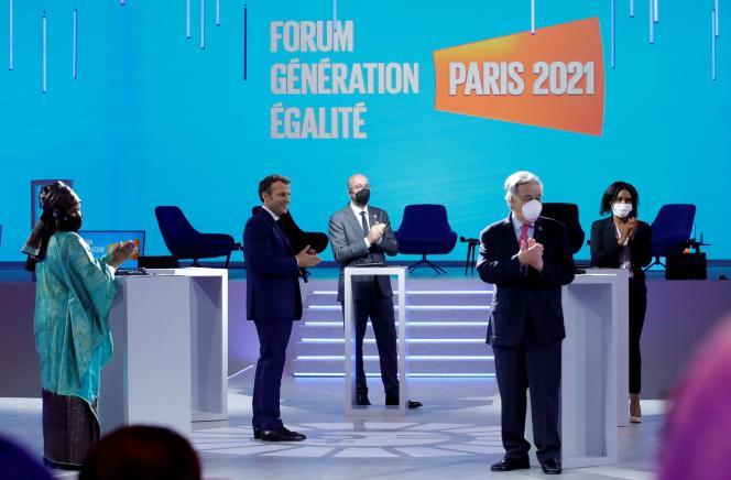 Le Forum Génération Egalité, organisé à Paris, s'est achevé vendredi 2juillet.