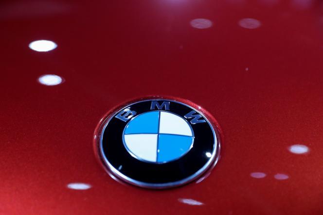 Le logo de BMW.