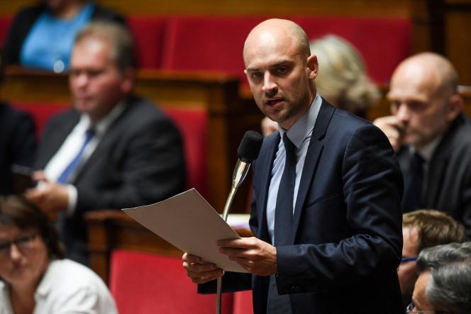 Jean-Noël Barrot, député MoDem, à l'Assemblée, en octobre 2017.