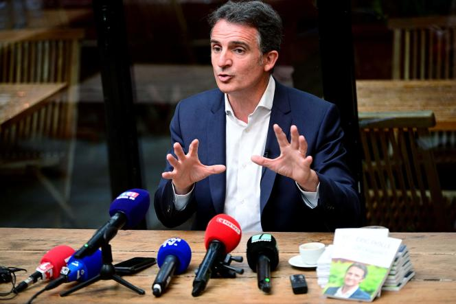Eric Piolle, maire EELV de Grenoble, le 30 juin à Paris.