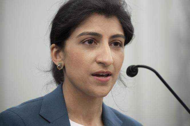 Lina Khan, réputée pour son hostilité aux monopoles des grandes plates-formes technologiques, a prêté serment en tant que présidente de la Federal Trade Commission (FTC) enjuin.