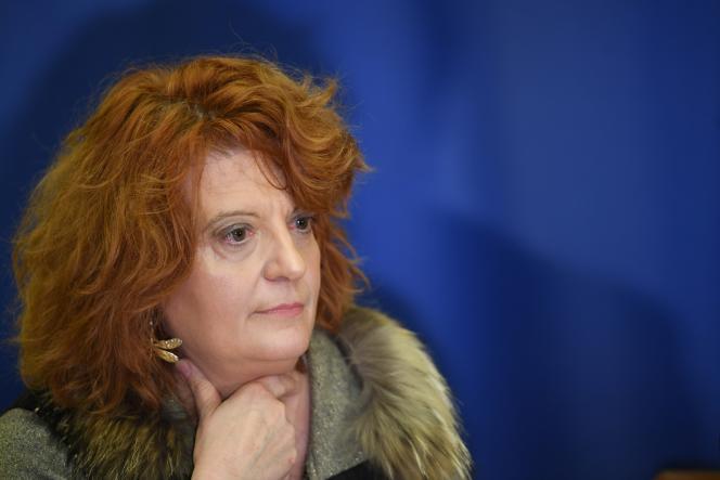La procureure de Créteil, Laure Beccuau, lors d'une conférence de presse le 4 janvier 2020.